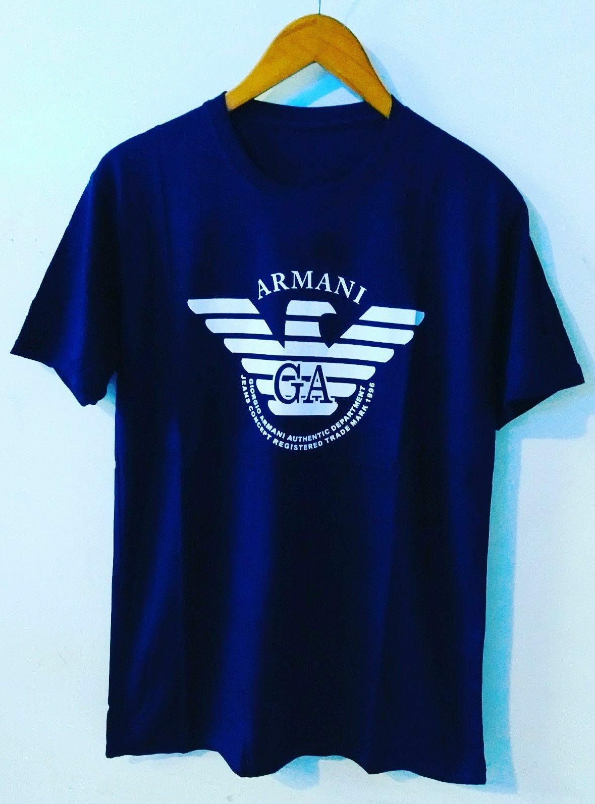 Amazon distro-kaos distro T-shirt fashion 100% soft cotton combed 30s kaos pria kaos fashion baju distro T-shirt gambar ARMANI katun marvel sablon plastisol atasan pria wanita katun simple keren cowok cewek pakaian distro