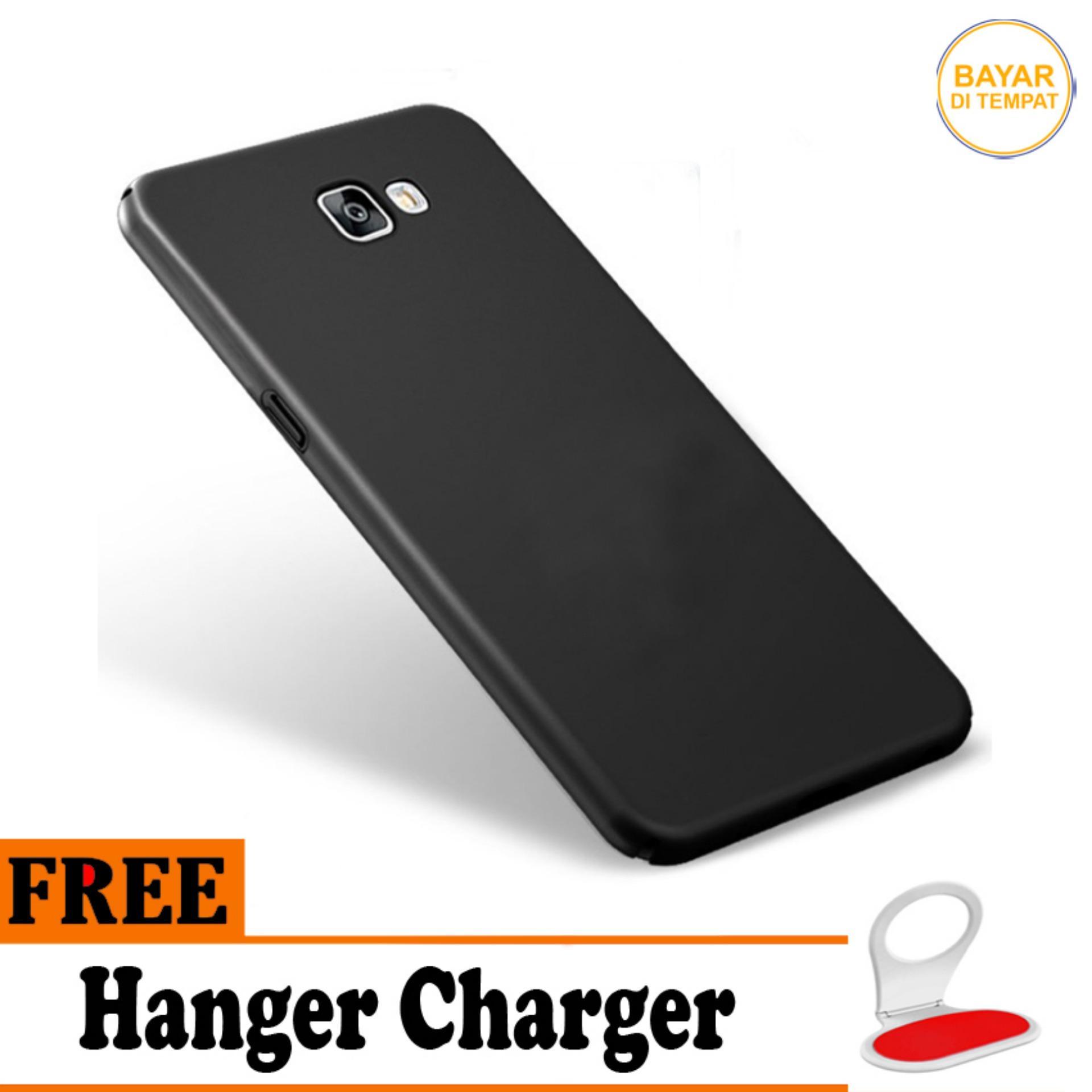 Casing Handphone / Softcase Anti Minyak Baby Skin Case Black Matte Ultra slim Untuk Samsung Galaxy
