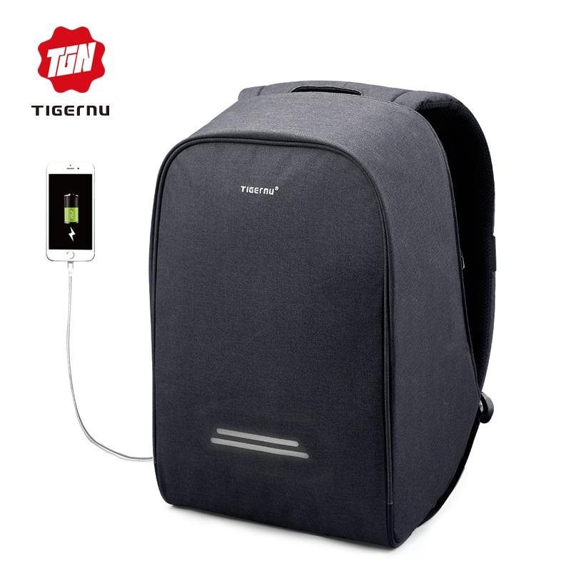 Harga Hemat Tigernu Anti Thief Design Waterproof Fashion Backpack For 12 15 6Inches Laptop 3213 Intl