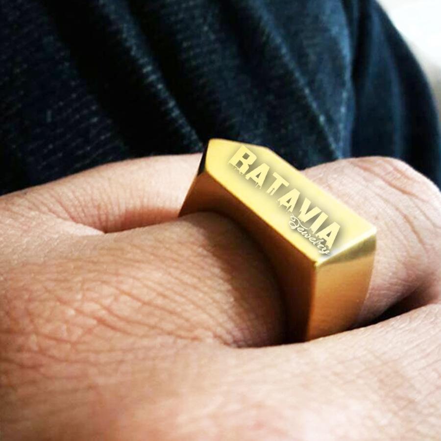 NEW Promo Perhiasan Cincin Emas Cincin Pernikahan Vitaly Way Gold Ring Titanium Skullring Murah