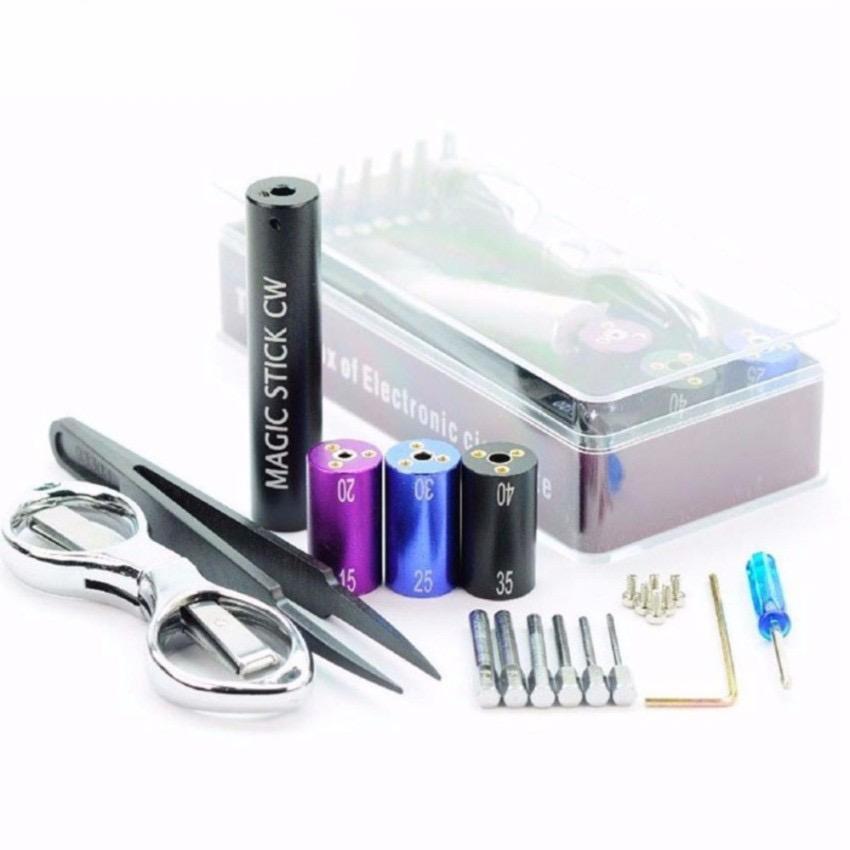 Dapatkan Segera Universal Coilling Tool Kit For Vape Vapor Kawat Wire Coil Toolkit