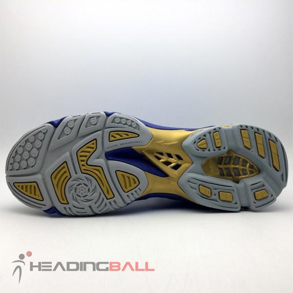 ... Sepatu Volley Mizuno Original Wave Lightning Z4 Blue Gold V1GA180051 -  3 ... 7ee11bd2e0