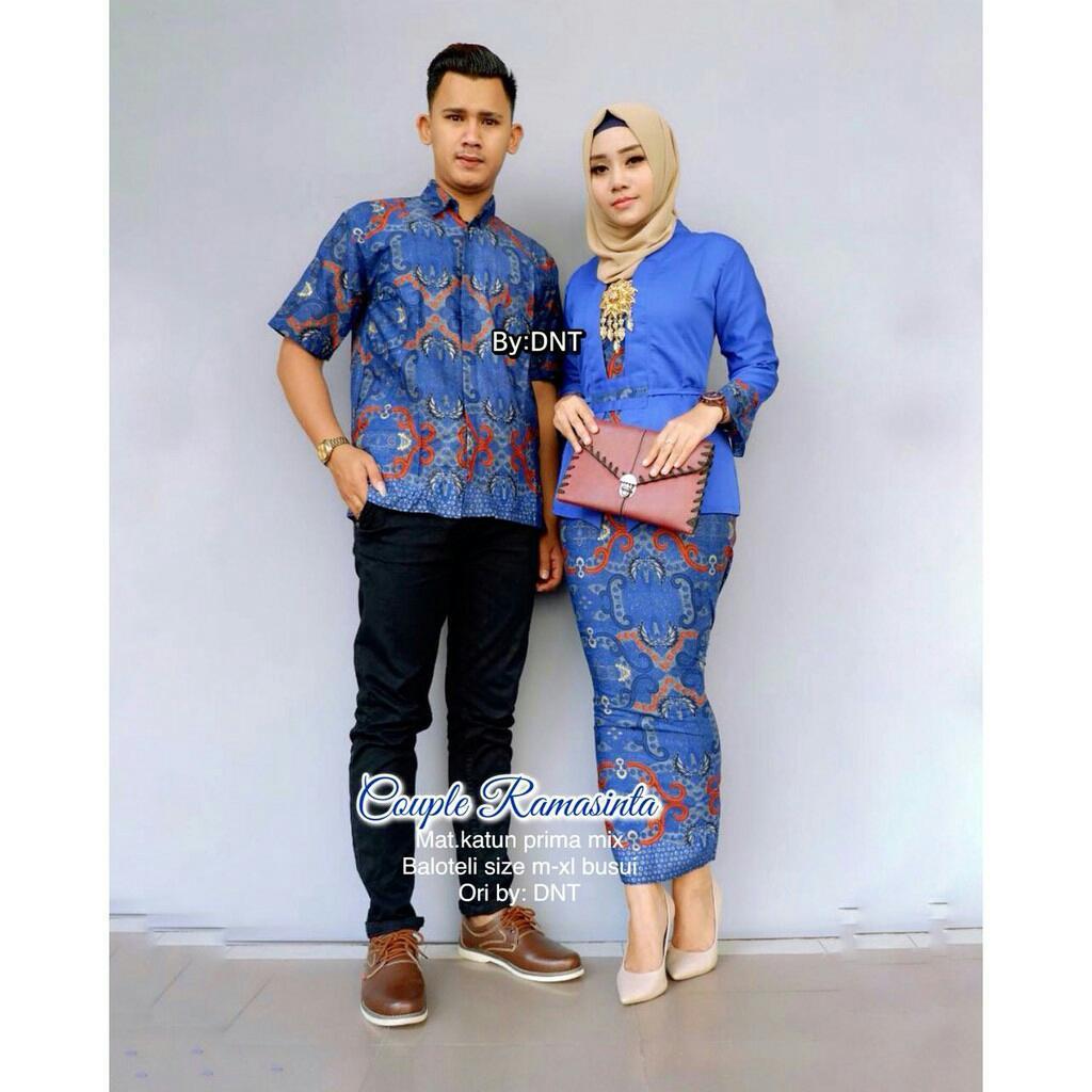 terbaru / baju batik / Batik Couple / Baju Muslim Wanita Terbaru 2018 / Couple Batik