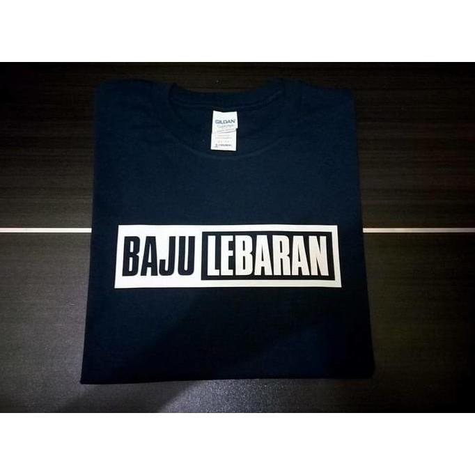 Kaos Tshirt Baju Combed 30S Distro Baju Lebaran Idul Fitri Jersey - Comjersey
