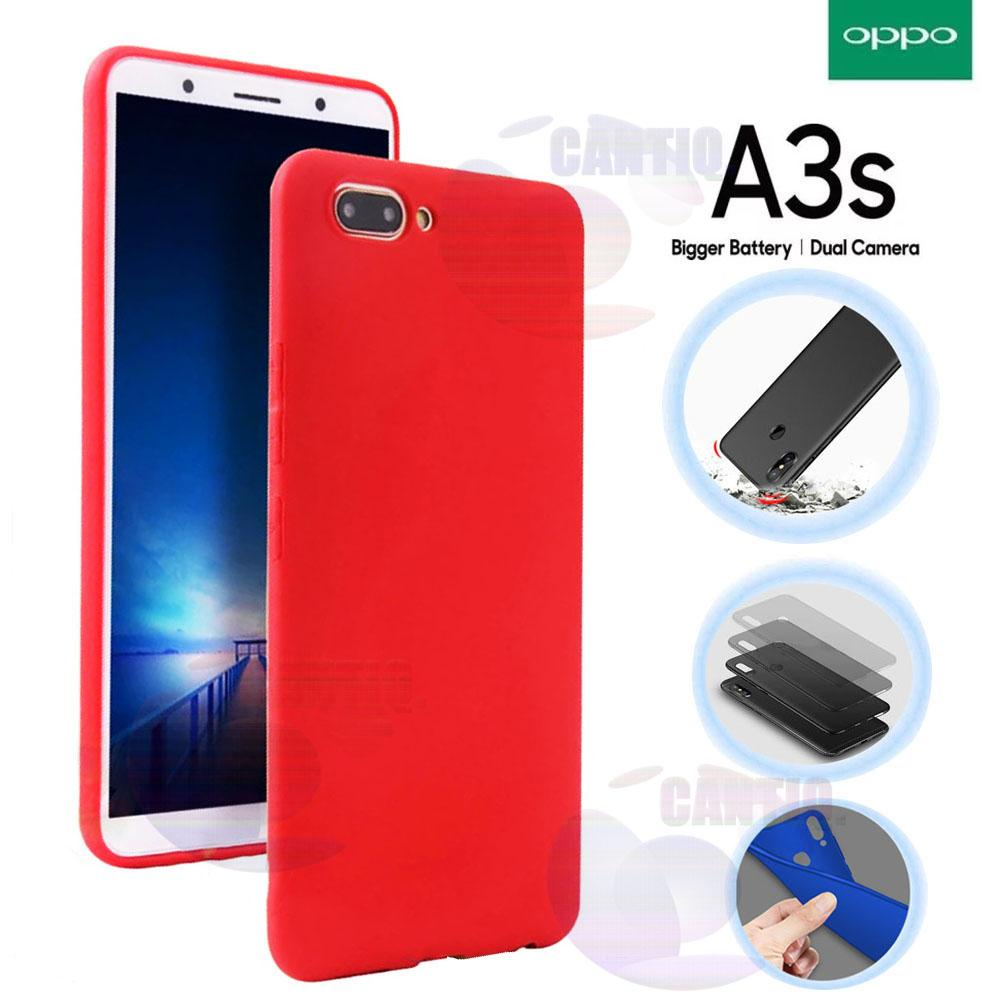 Lize Jelly Case For Oppo A3S Candy Rubber Skin Soft Back Case / Softshell / Silicone