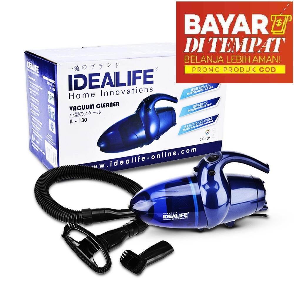 IDEALIFE JAPAN Vacuum Vacum Vakum Cleaner Penyedot Penghisap Pembersih Blower Vakum Debu Dust Biru Super Hoover