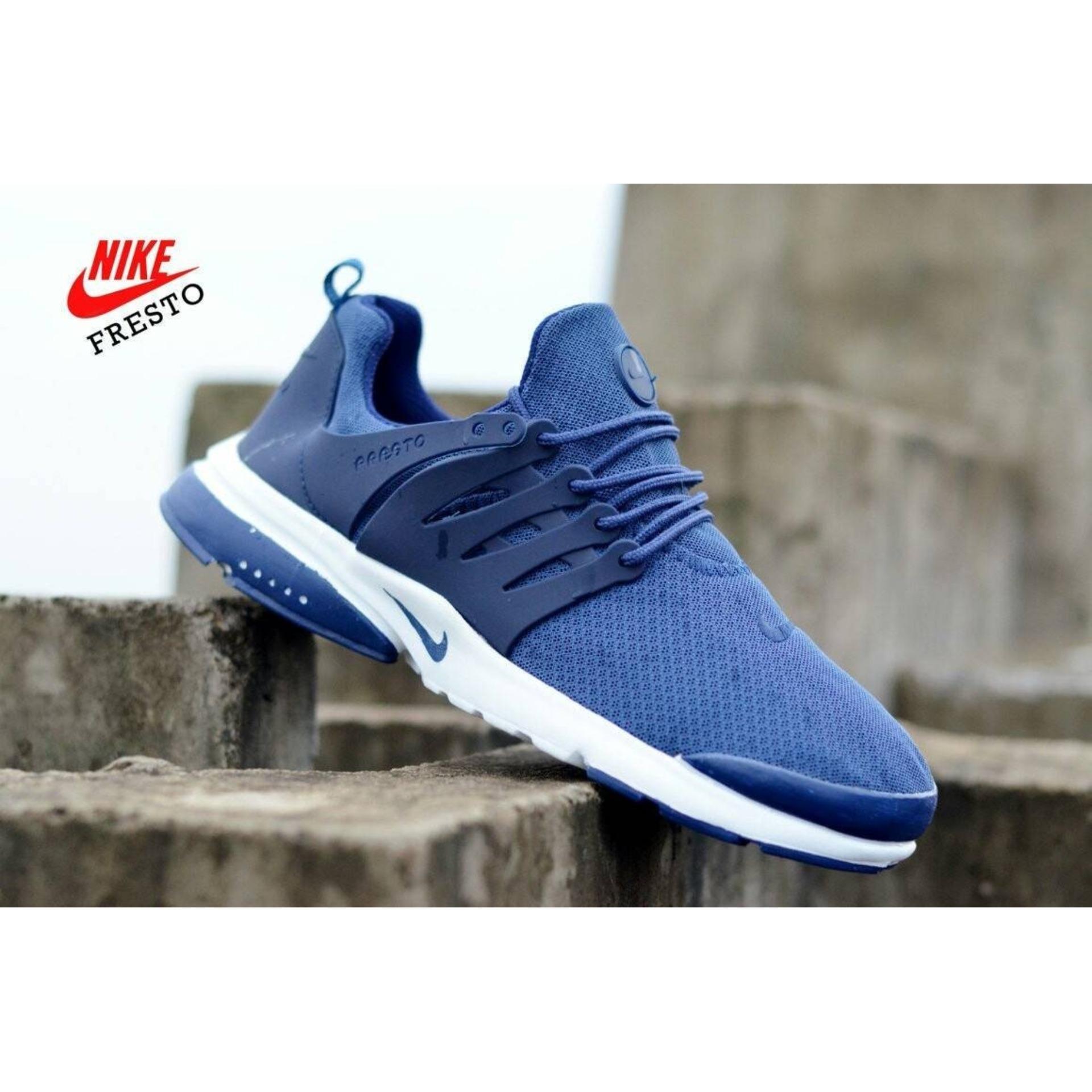 Sepatu Running Nike Presto Blue