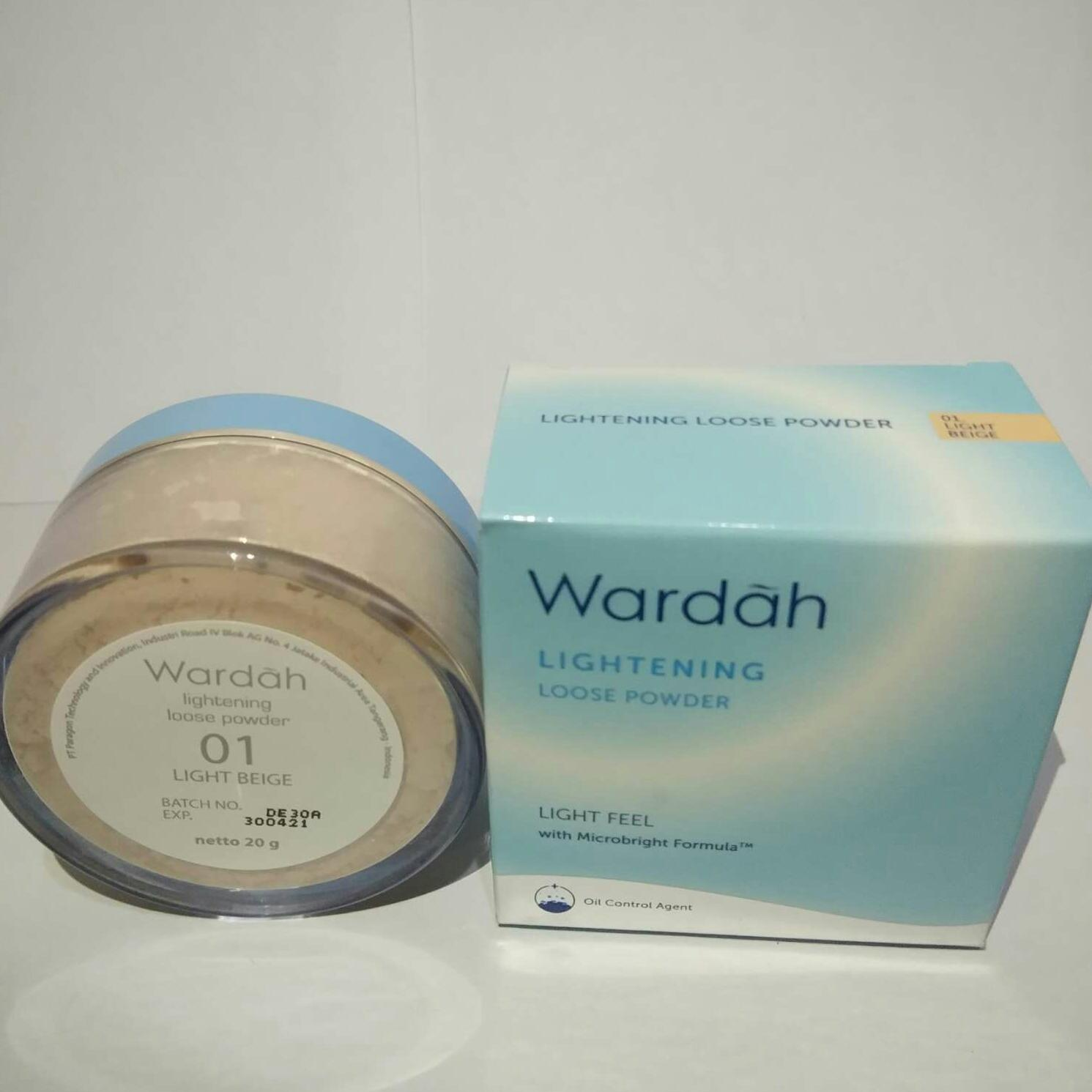 Wardah Lightening Loose Powder