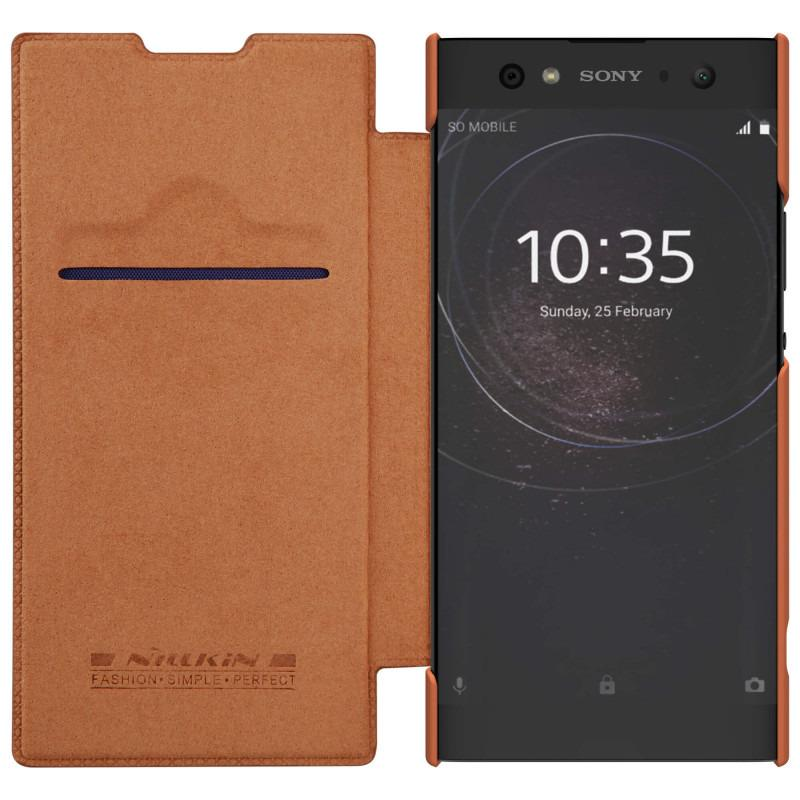 Nillkin Original Qin Series Leather case for Sony Xperia XA2 Ultra - Coklat