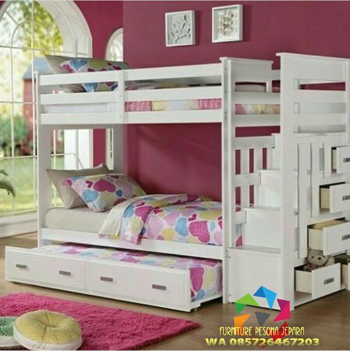 Ranjang susun anak, Tempat tidur tingkat anak. PESONA JEPARA 97