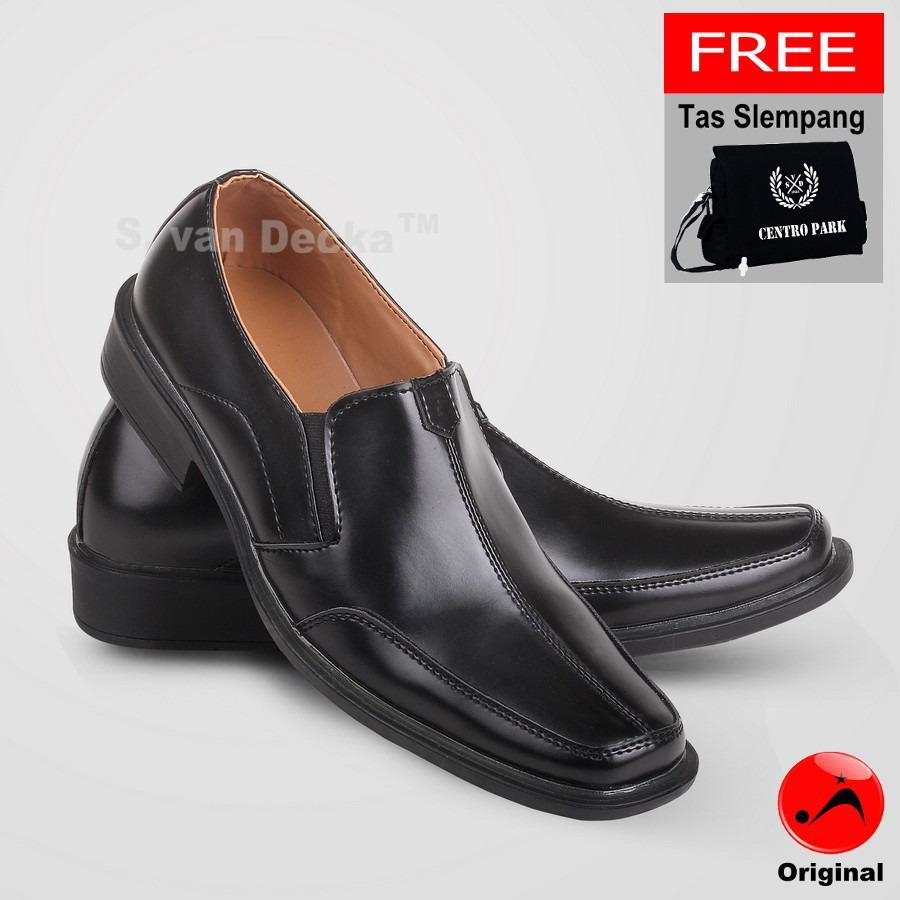 Spesifikasi S Van Decka Xtk029 Sepatu Formal Pria Hitam Gratis Tas Slempang Bagus