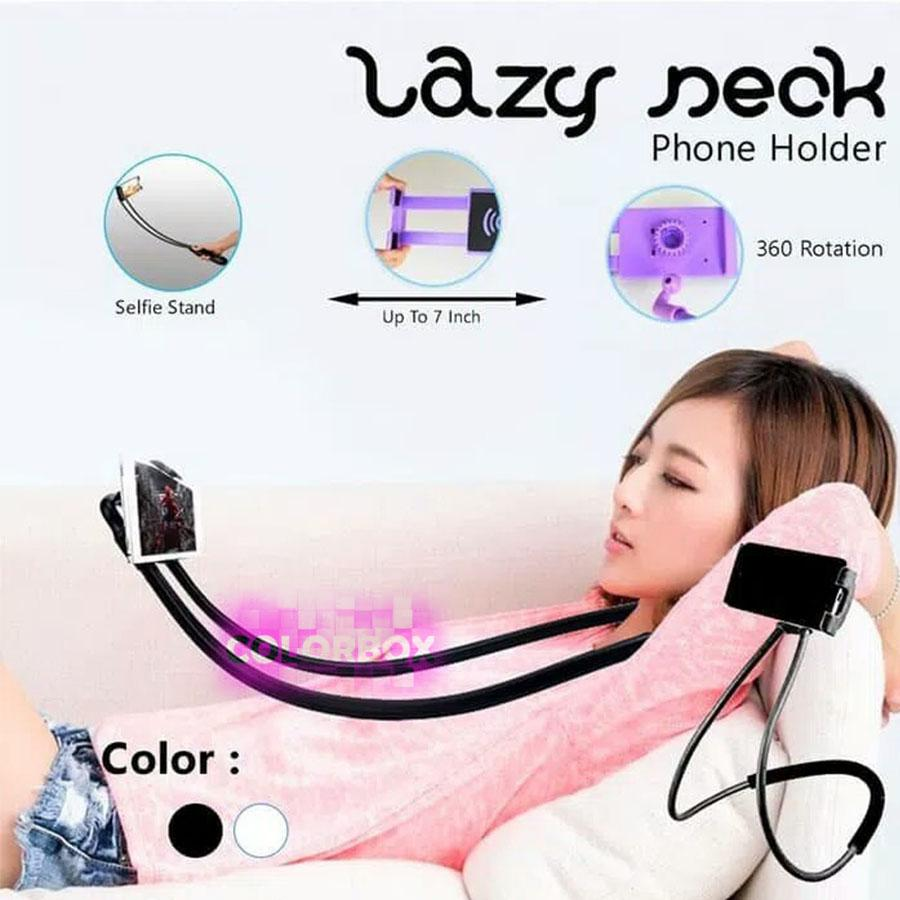 MR Tongsis / Lazypod Leher / Monopod Leher TERBARU Universal Flexible Lazy pod Hanging on Neck