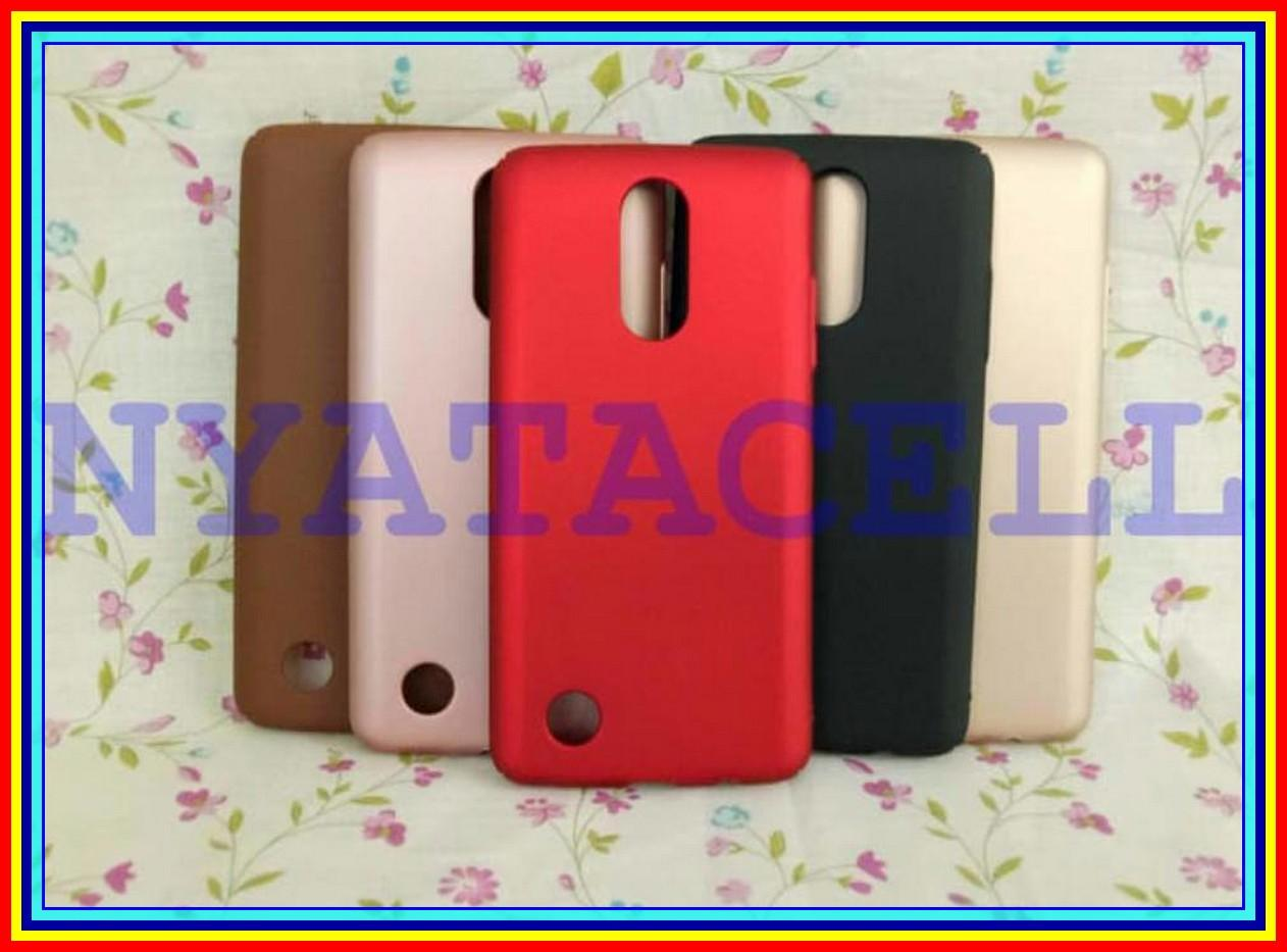 Hard Case Baby Skin LG K8 2017 Soft Touch Matte Dove Hardcase Gea - ROSEGOLD