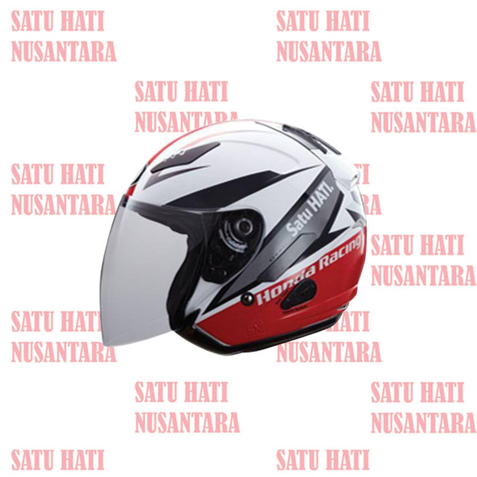 Harga Honda Ori Hrr Kyt Half Face Helm Helmet L Yang Murah Dan Bagus