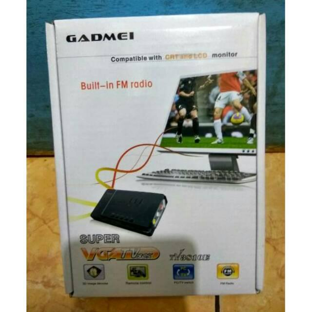 TV Tuner Gadmei 3810 combo LED ONLY