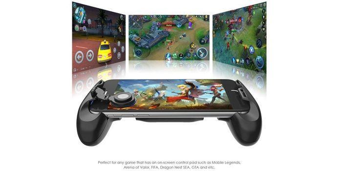 GAMEPAD ANALOG DOUBLE JOYSTICK / GAME PAD STANDING JOY STICK HOLDER Mobile LEGEND Gamesir F1
