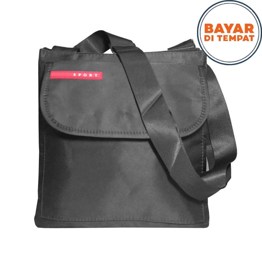 Harga Sport Tas Selempang Pria Office Note Book 10 Inchi Pu Leather Dj001 Black Online Dki Jakarta