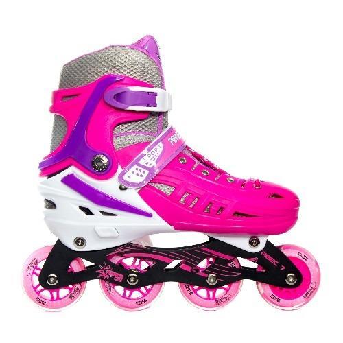 Jual Power Line Sepatu Roda Inline Skate Hb22 Pink Power Line Di Dki Jakarta