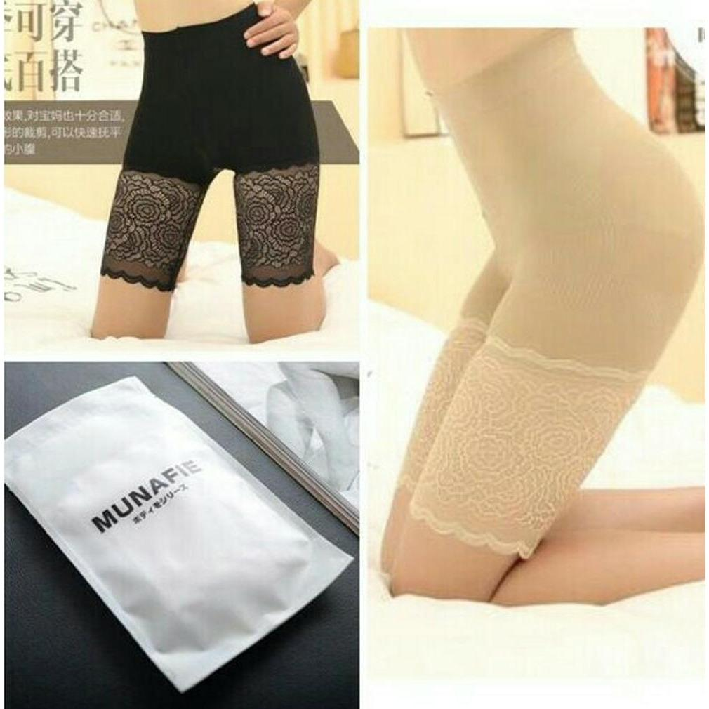 Harga Munafie Hotpant Celana Paha Slimming Control Shaping Pant Online