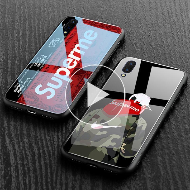 Glass Case For VIVO V11 V11 Pro V9 V7 Plus V7 V5 V5s V5 Plus Y71