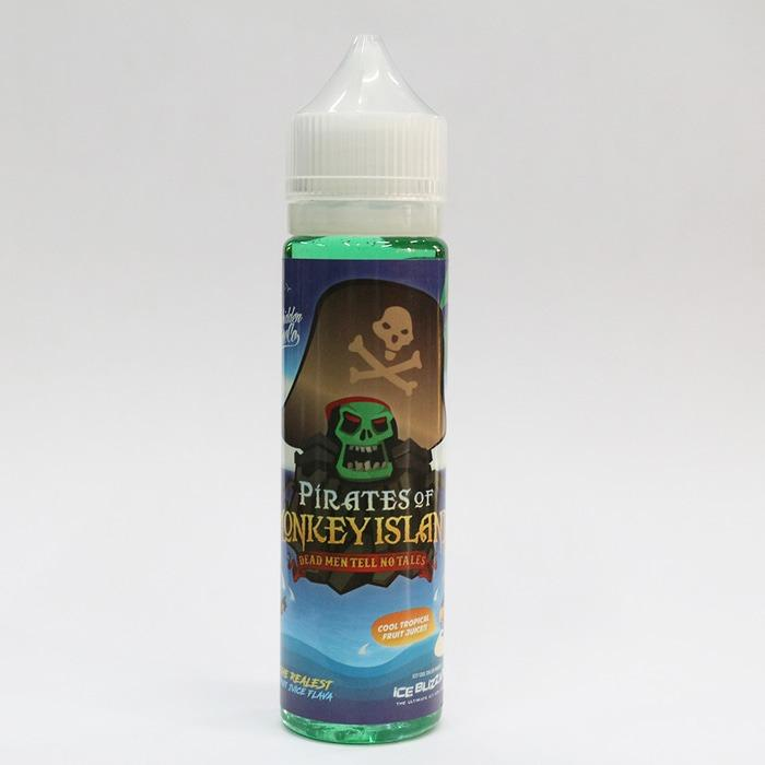 Promo - Original USA - Pirates of Monkey Island - 60ml 3mg Premium Liquid Vape Vapor