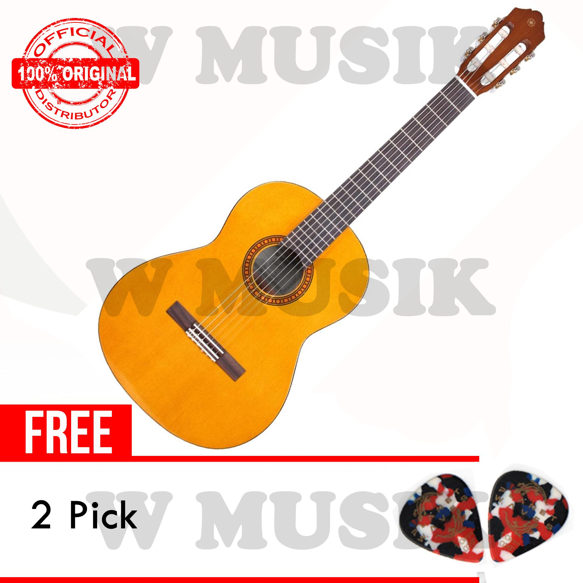 Jual Yamaha Gitar Klasik 3 4 Cs40 Cs 40 Natural 2 Pick Original