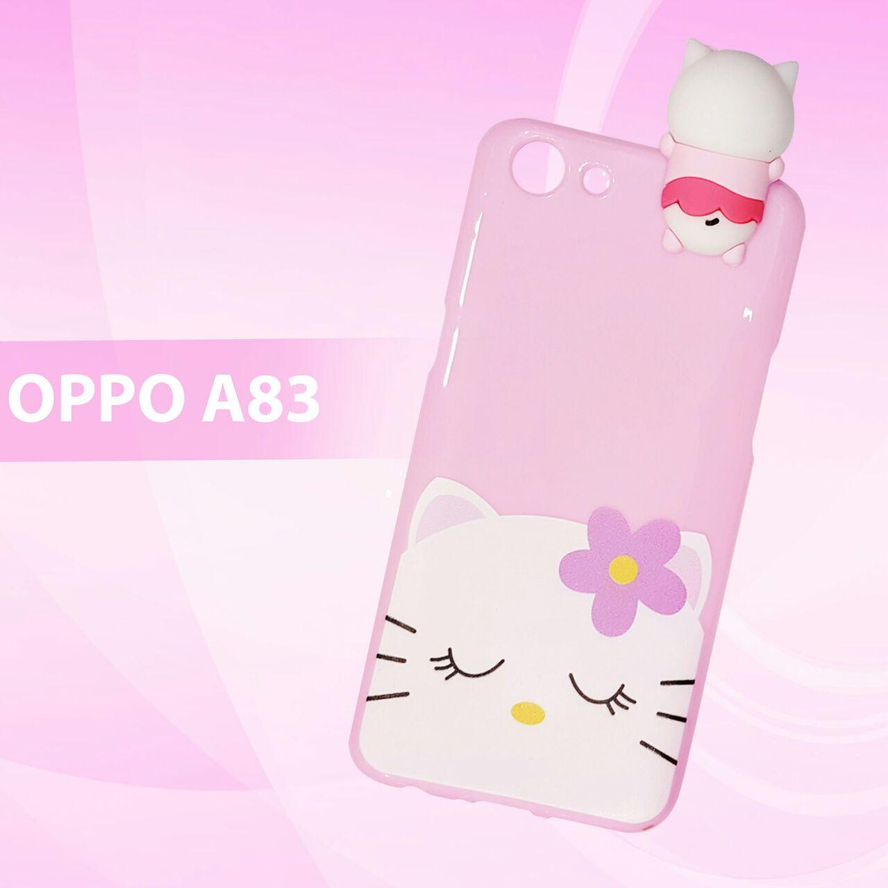 Intristore Soft Sillicon Phone Case MANJAT For OPPO A83