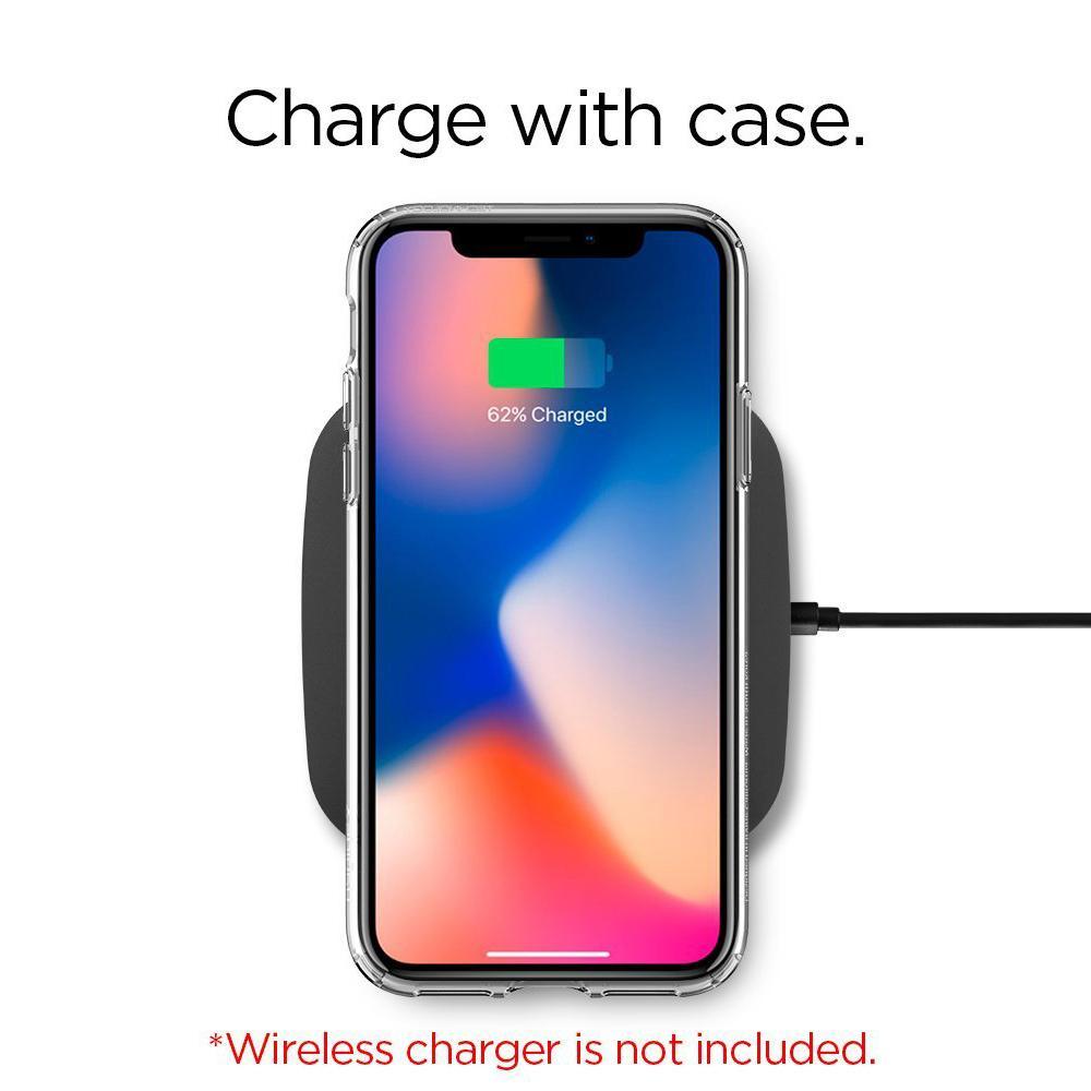 Spigen iPhone X Case Liquid Crystal Glitter Case - 4