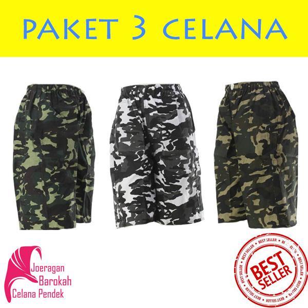 Muscle Fit Celana Pendek Pria Bermuda MCL-40 Grey | Shopee Indonesia -. Source · Paket 3pcs Celana Pendek ARMY Doreng