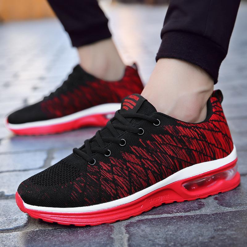 Iklan Pria Fashion Sepatu Atletik Outdoor Sepatu Bernapas Sepatu Sepatu Lari Intl