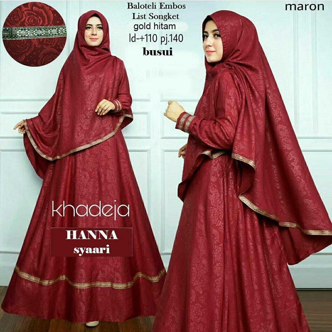 Kelebihan Baju Muslimah Wanita Baju Gamis Import Maxi Dress Flanel