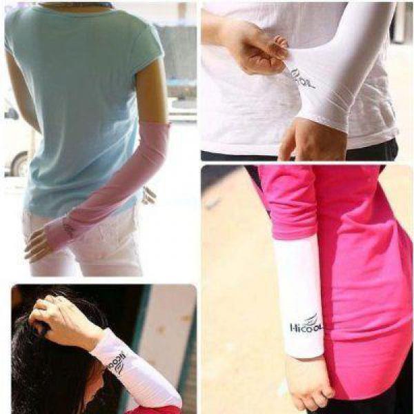 Kaos tangan anti panas Manset Sport Hi Cool Arm Sleeve UV Protection Cover .