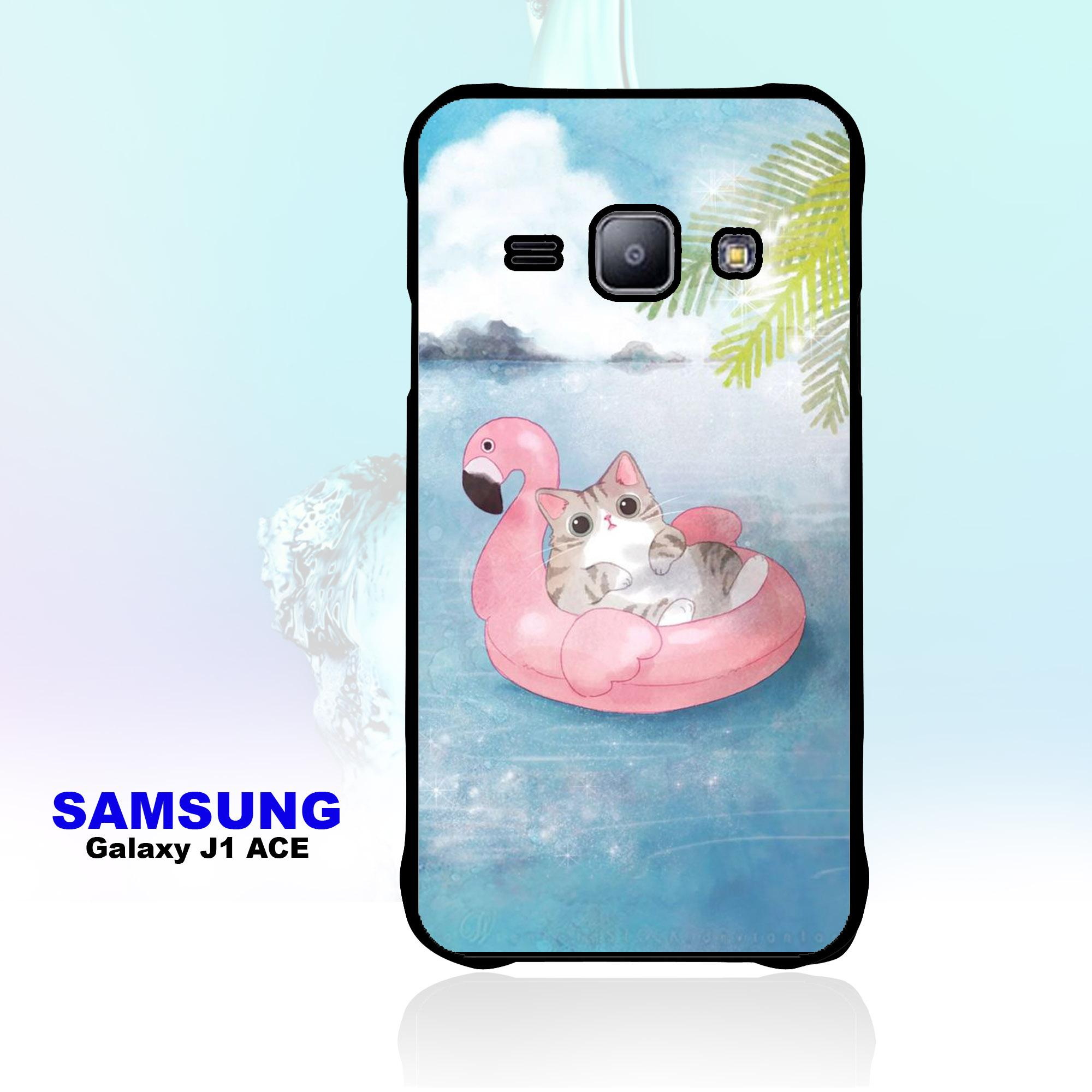 Case Samsung Galaxy J1 Ace - Little Cat Series