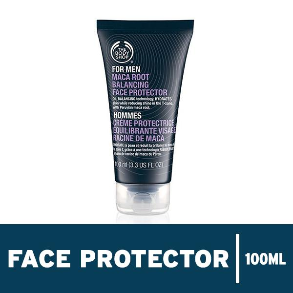 Beli The Body Shop Maca Root Balancing Face Protector 100Ml Dengan Kartu Kredit