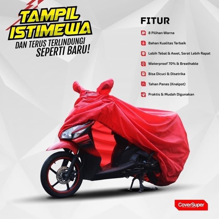 Fitur Terlaris Penutup Motor Cover Motor Yamaha Fino Sporty