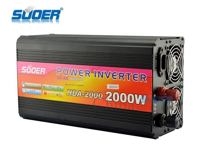 ... Power Inverter Automatic Charger UPS SUOER 2000WATT HDA-2000C - 3