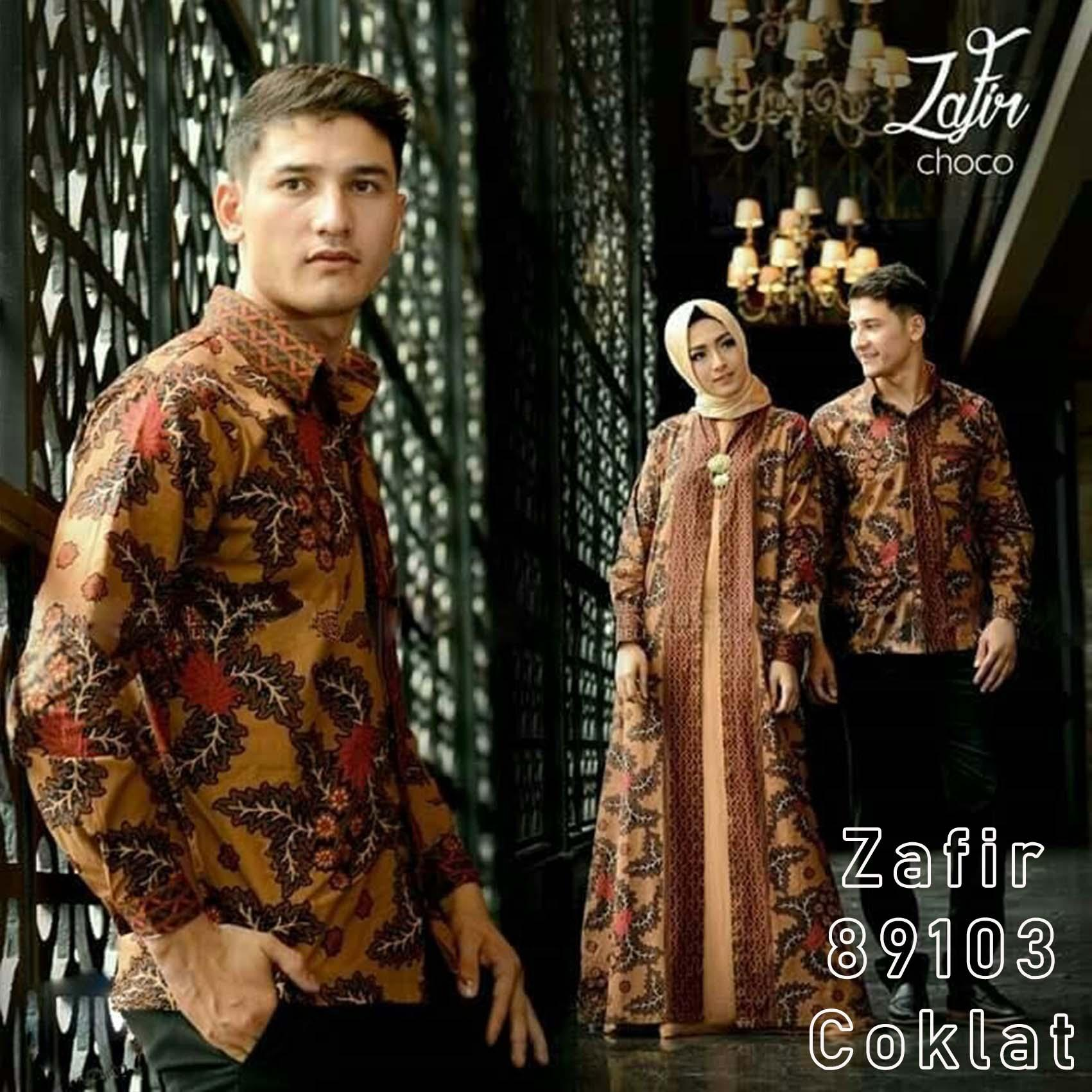 Asmiranda Blue Source · Suki Couple Batik Cewe Cowo Shinta. Source · baju batik couple Couple zafir coklat 89103