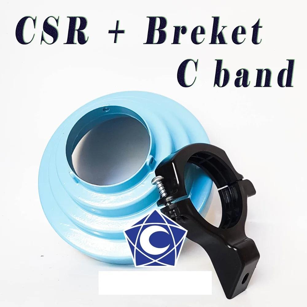 Kelebihan Odu Dish Parabola Mini Tanaka 45cm Lnb Dual Terkini Ku Band T60 Csr Breket Hitam Set C Conical Scalar Ring Offset
