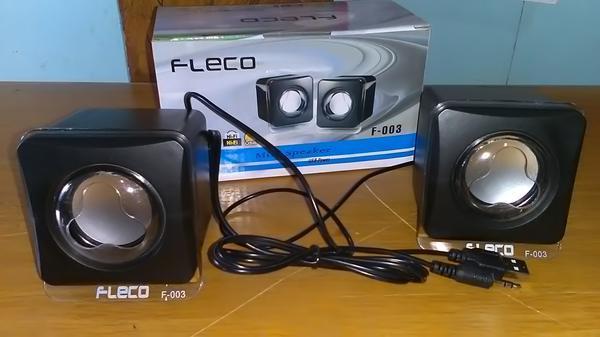 Detail Gambar Mini Speaker FLECO F-003 USB Power - Portable Kumputer / Handphone Terbaru