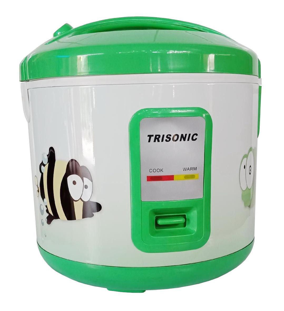 Trisonic Rice Cooker 1.8 Liter Karakter Hijau