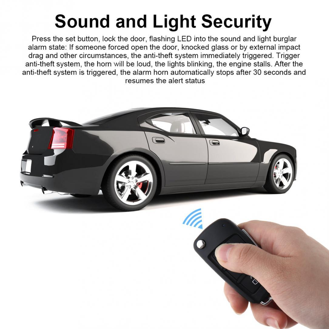 Kelebihan Universal Alarm System Remote Start Stop Engine Mobil Push Button Rfid Lock Ignitaion With Keyless Entry Black Auto Central And For