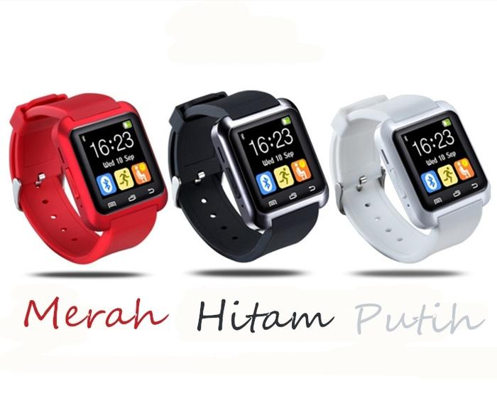 Jam Tangan Canggih Masakini Digital Smart Watch U8 Android Import