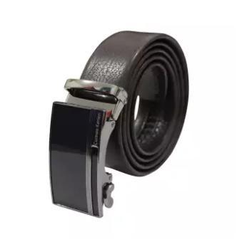 Ikat Pinggang Pria Belt Sabuk Gesper Metal Buckle Kulit CK011