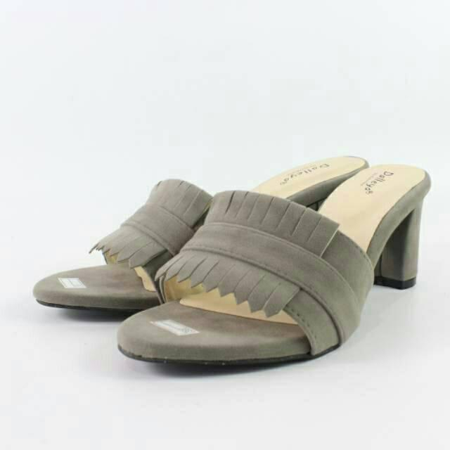 Dalleya - sandal hak tinggi wanita pump heels casual pesta VOLTUS. - 2 e68213b904