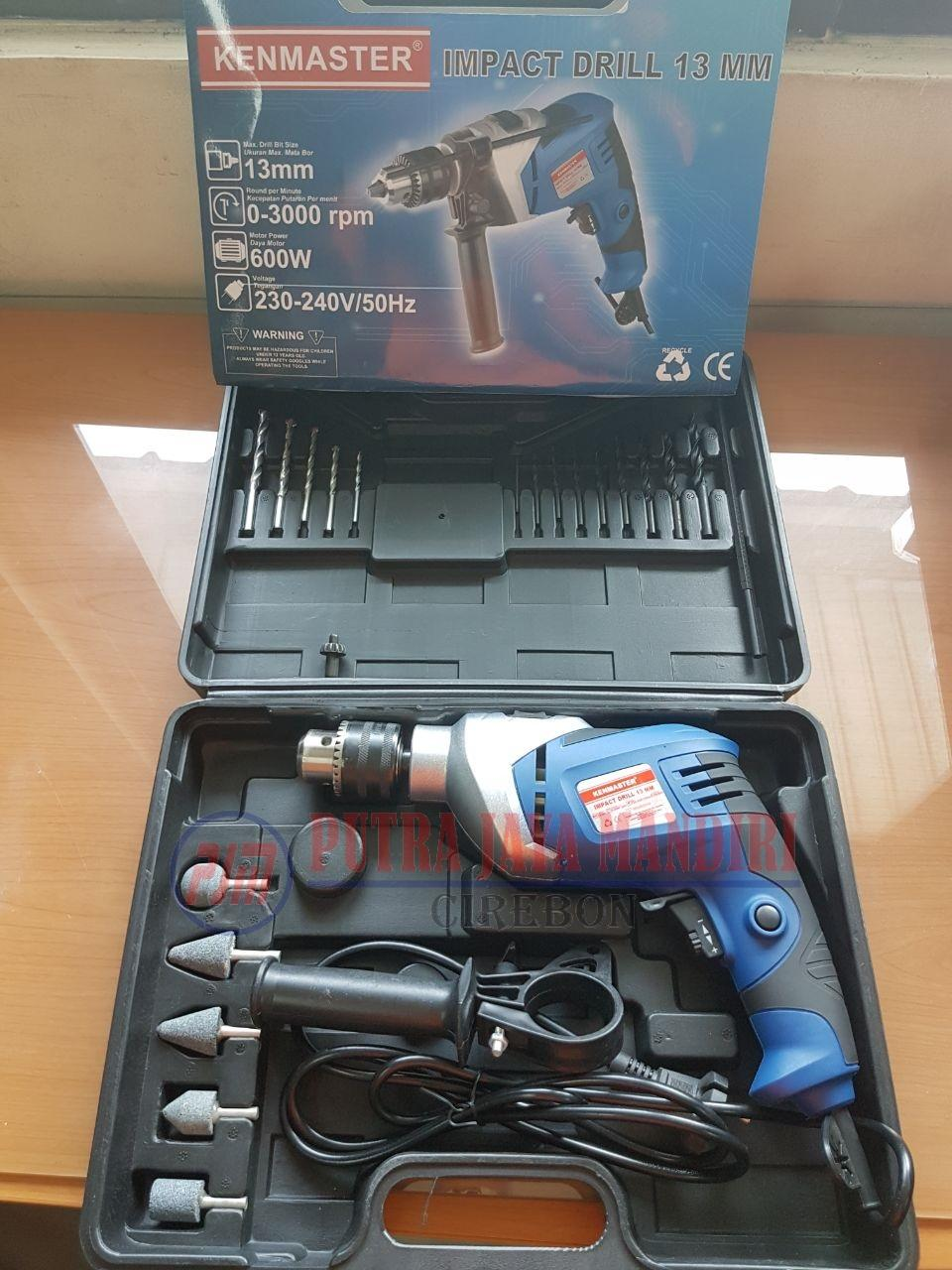 Ini Dia Black Decker Hammer Impact Power Drill 10mm Tp555 Bor Mesin 13mm Shimeta Kenmaster Beton Tembok Koper With Box