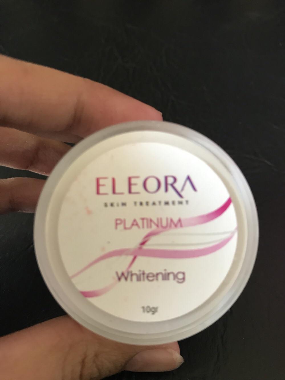 Eleora Cream Whitening Platinum (cream malam)