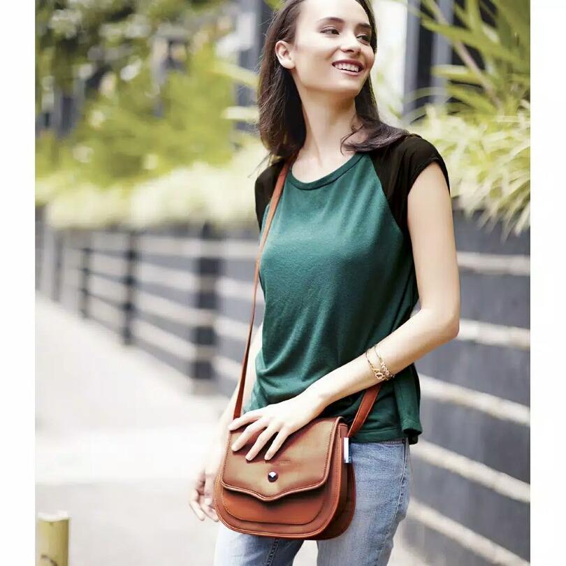 Jual Shopie Paris Valery Bag Tas Selempang Wanita Bahan Kulit Sintetis Brown Jawa Tengah