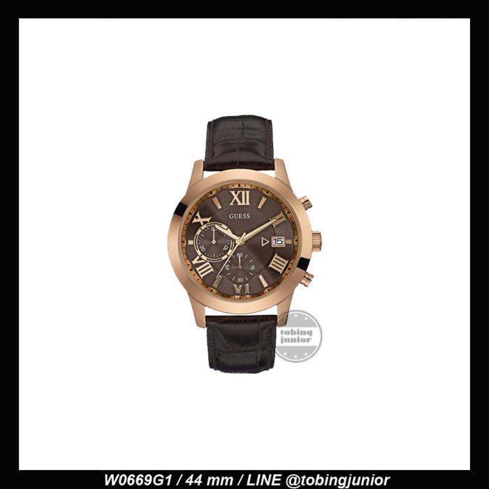 Jam Tangan Guess Pria Original 100% GUESS ORI W0669G1 Murah