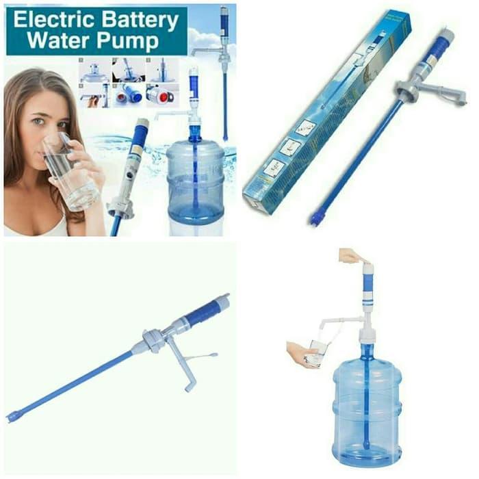 murah Pompa Galon Elektrik Baterai / Dispenser Air Minum Water Pump Murah diskon