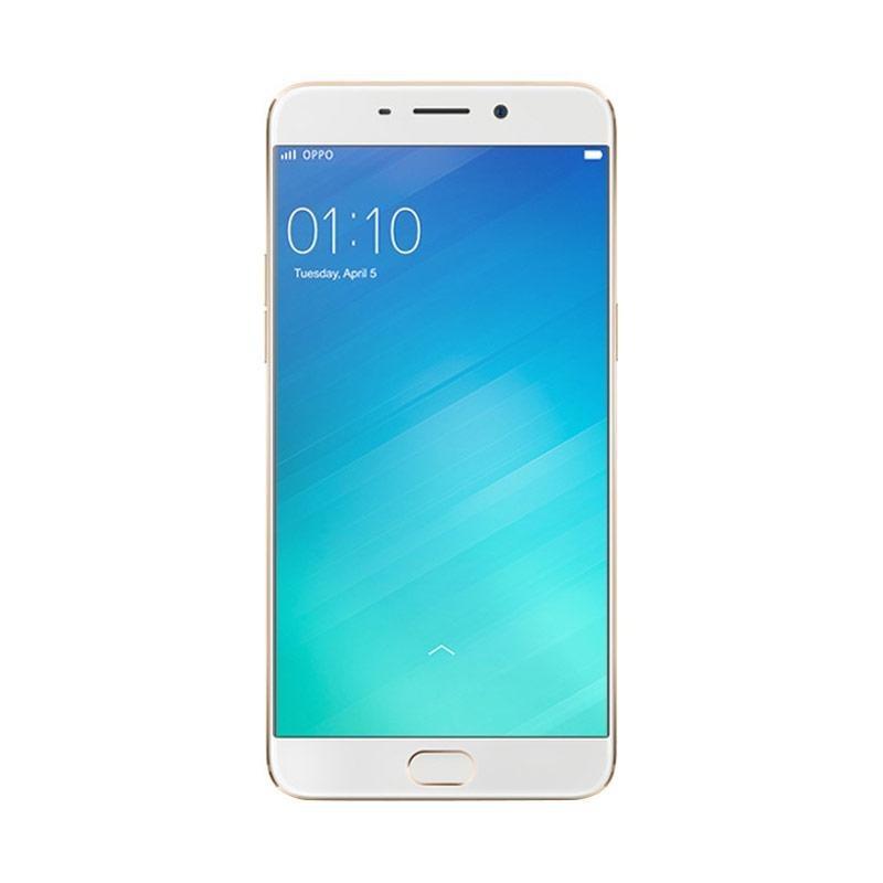 OPPO F1 Plus Smartphone - Gold [64 GB/ 4 GB]